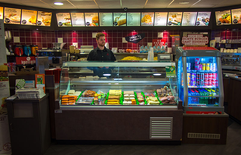 A wikipedia commons image of a dutch snackbar