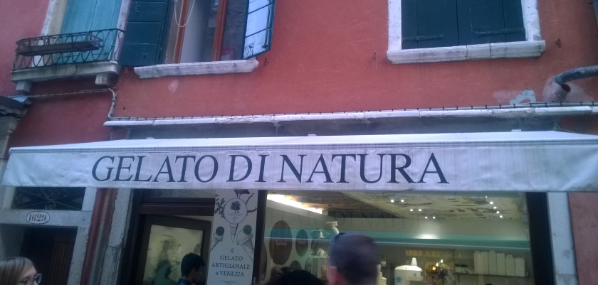 Outside of Gelato di Natura