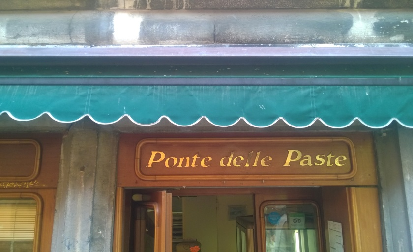 Entrance of Ponte delle Paste