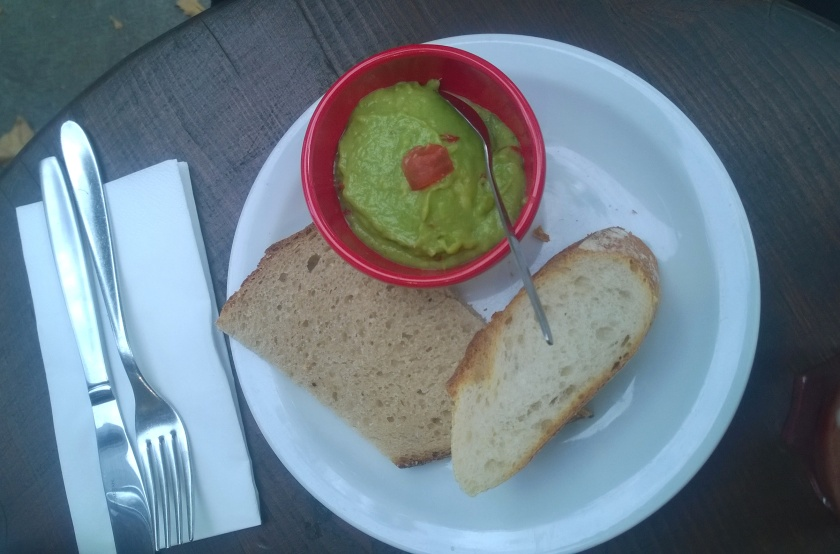 "Guacamole ""snack"" at LPQ in Geneva"