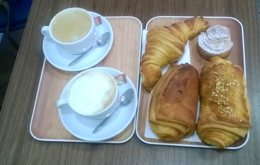 Breakfast at VG Pâtisserie