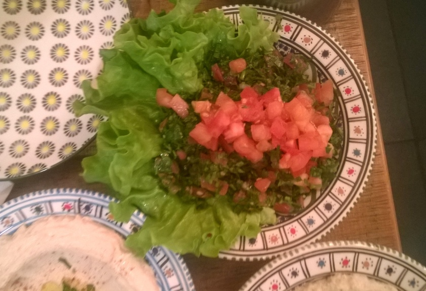 Tabbouleh at Al Boustan
