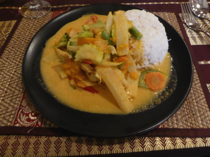 Tofu curry at Chiang Mai Thai