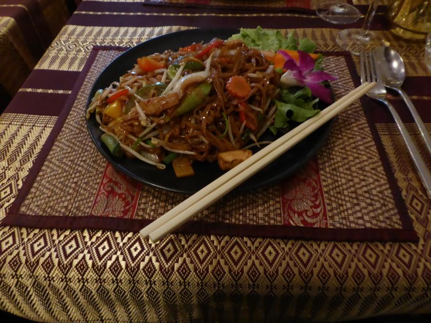 Noodles at Chiang Mai Thai