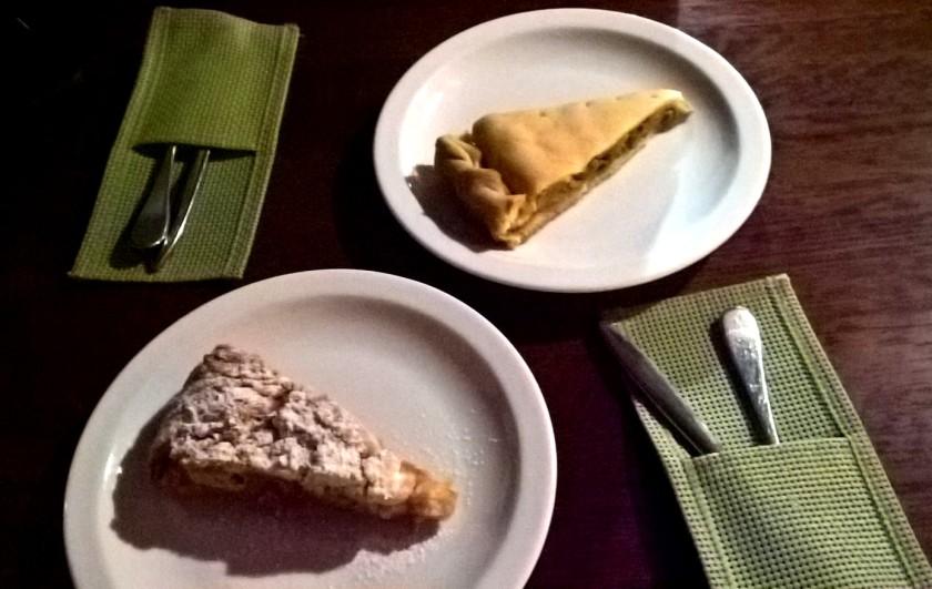 Pist cakes at Zolotoi Dukat