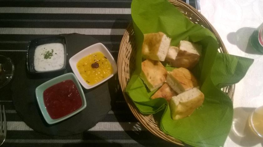 Appetizer at Kutchi