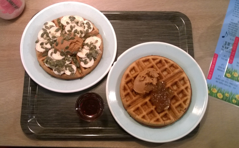 Waffles at Brunchroom