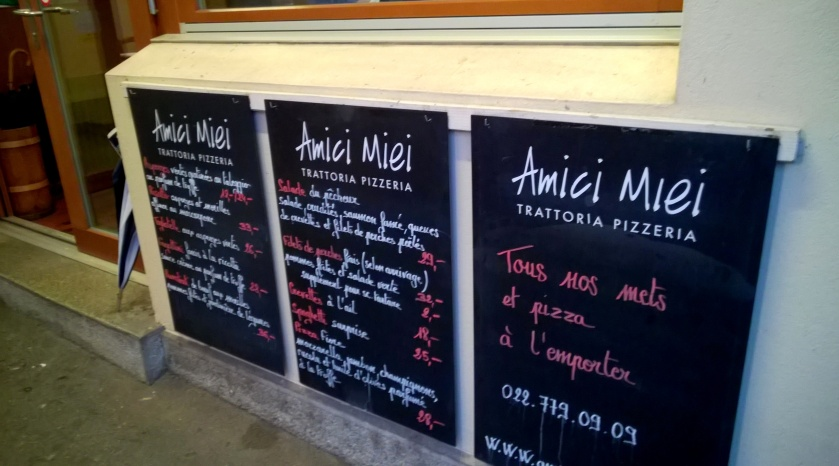 Outside of Amici Miei