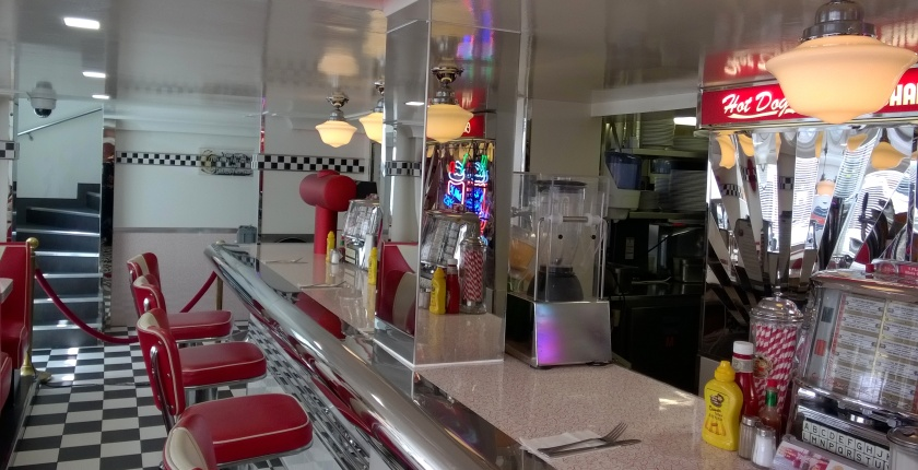 Bar at American Dream Diner