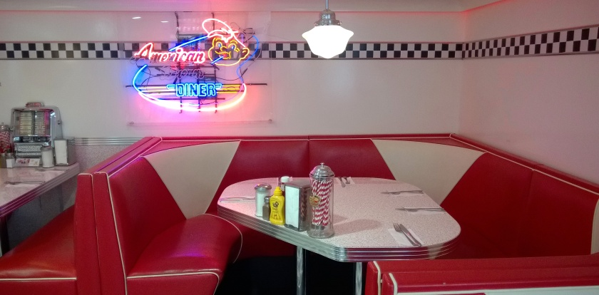 Interior at American Dream Diner
