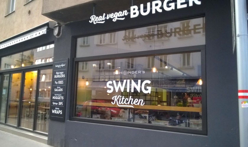 Exterior of Swing kitchen