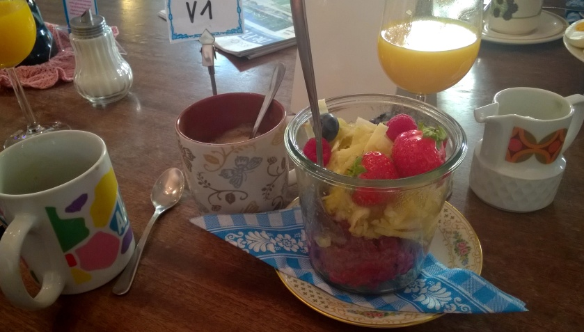 Bircher museli at Vollpension