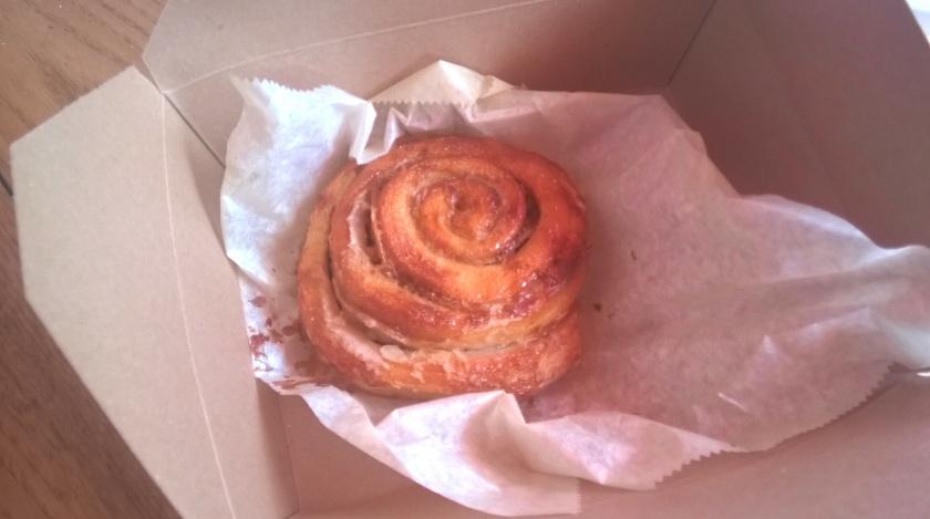 Cinnamon roll at Cinnamon snail