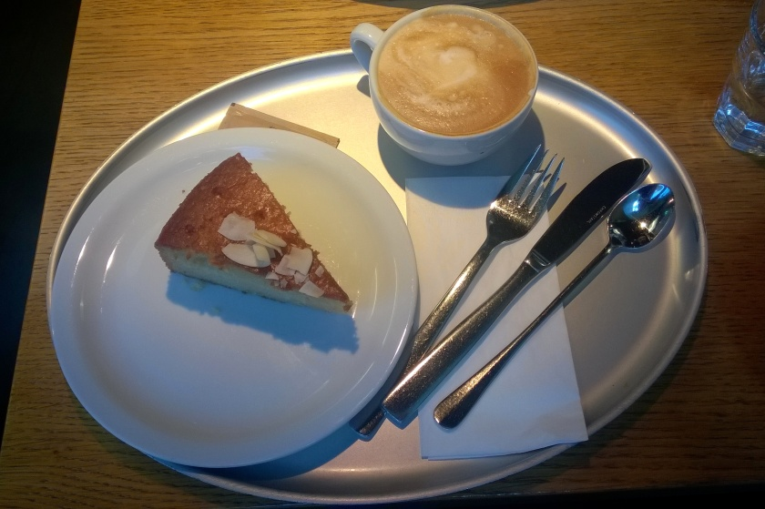 Coffee and pie at Tibits