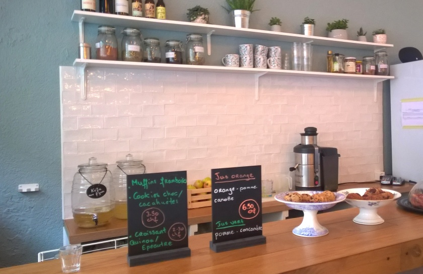 Counter at Be Kind Cafe