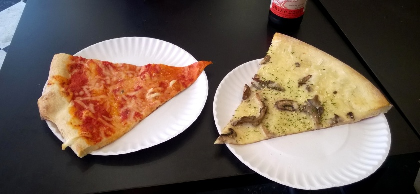 Pizza at Screamers Pizzeria