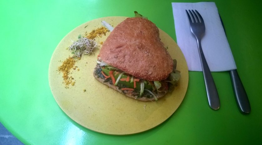 Sandwich at Biofred