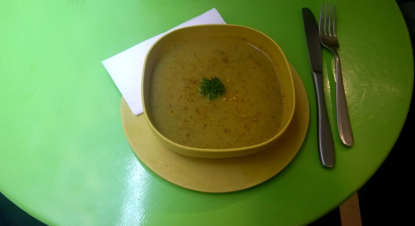 Daily soup at Biofred