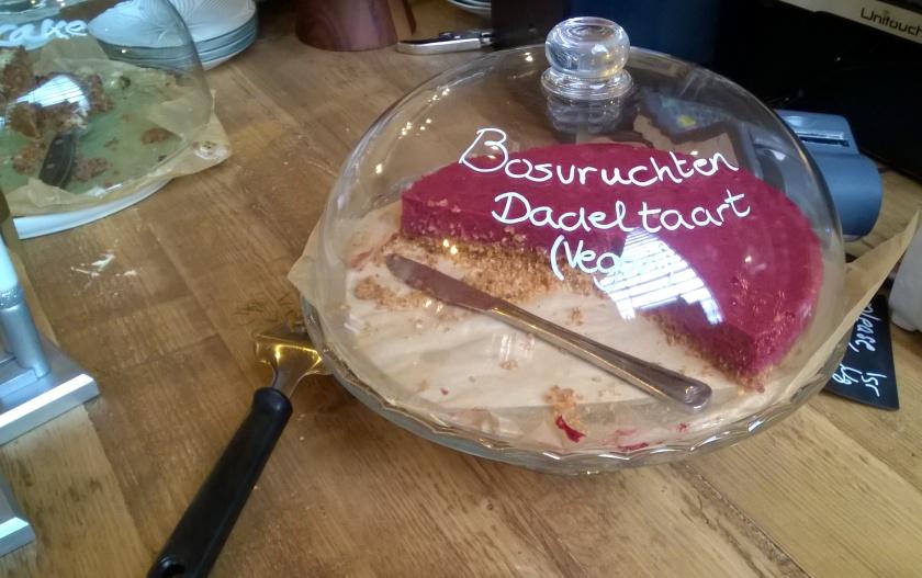 Vegan cake at Coffee break