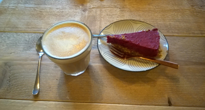 Coffee and cake at Coffee Break