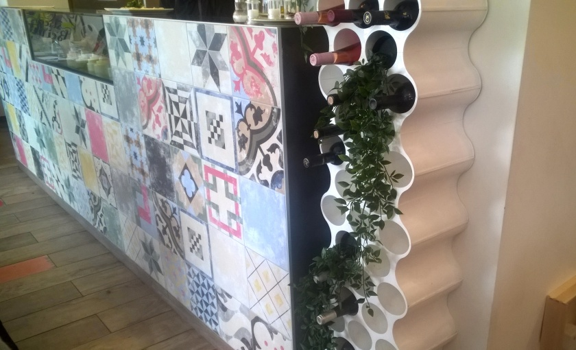 Wines and tiles at Street Beirut