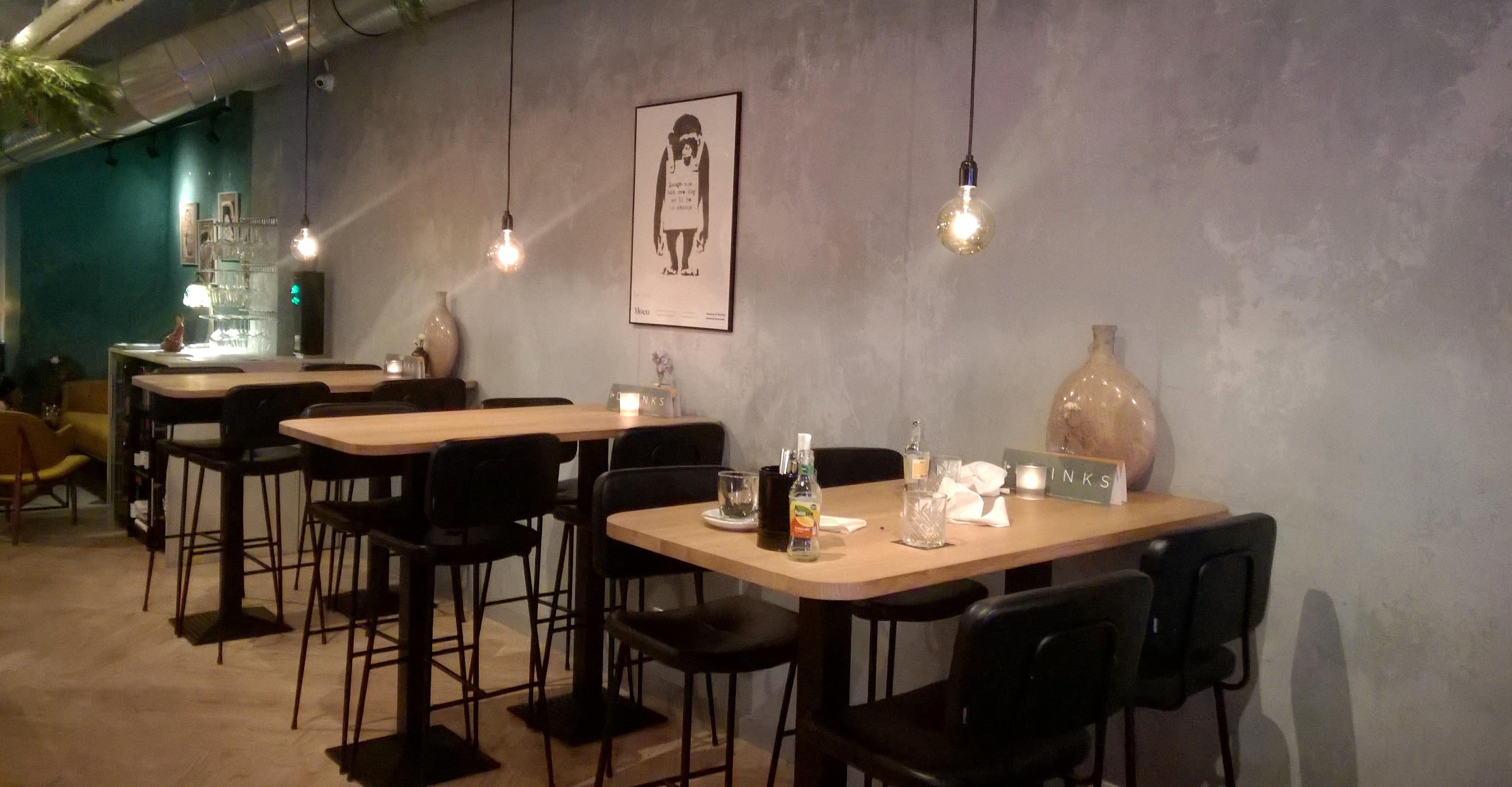 Interior at SNCKBR/Wakuwaku