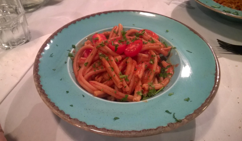 Greek pasta at Yiantes
