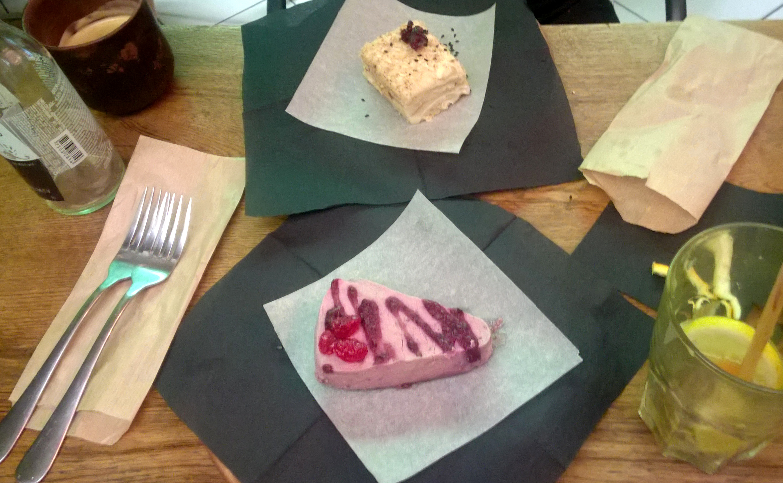 Desserts at One Planet