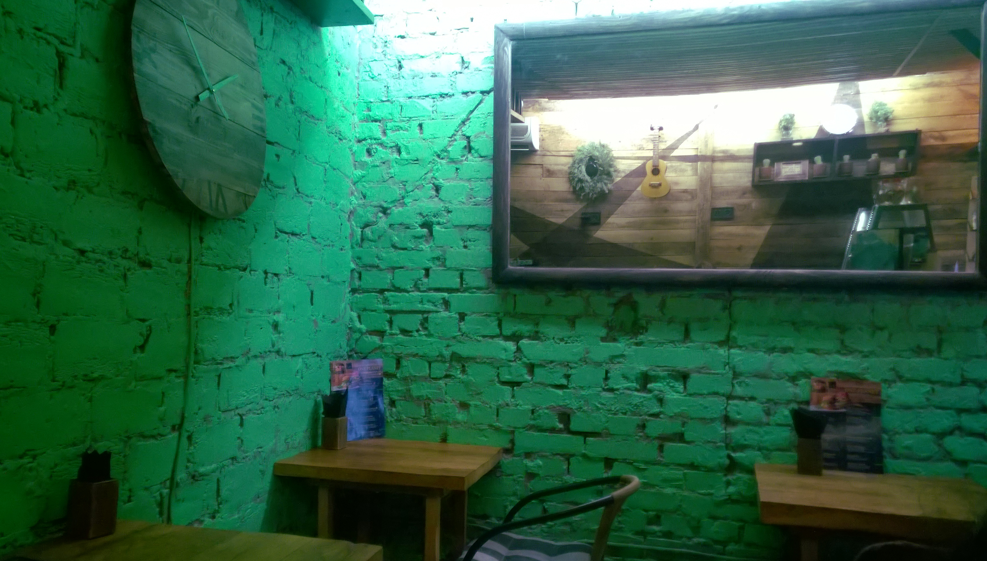 Interior at One Planet